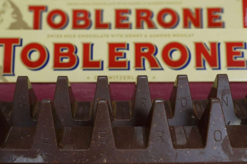 Toblerone chocolate bars, now featuring slimmer peaks and wider valleys, caused an uproar among fans.