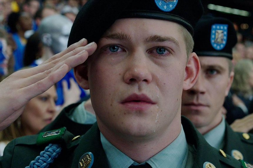 Joe Alwyn in Billy Lynn's Long Halftime Walk, who was forced to put his head into a bucket of ice for five minutes on every morning on set.