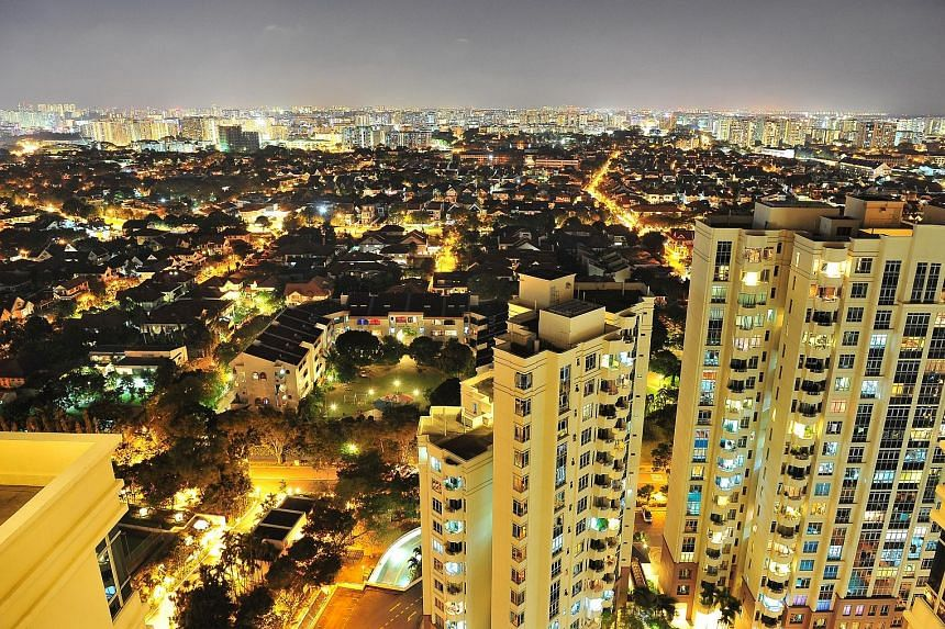 Resale prices of condominium units and apartments fell by 0.7 per cent in October from September, according to flash estimates released by SRX Property. Based on the SRX Property index, resale prices for private non-landed homes last month were at th