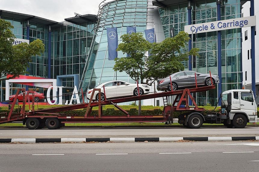 Jardine Cycle & Carriage says contributions from Direct Motor Interests - another automotive company under the group operating in Singapore, Malaysia and Myanmar - should remain steady.
