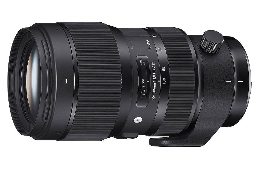 The Sigma 50-100mm f1.8-DC HSM lens is designed for interchangeable-lens cameras (ILCs) with APS-C image sensors.