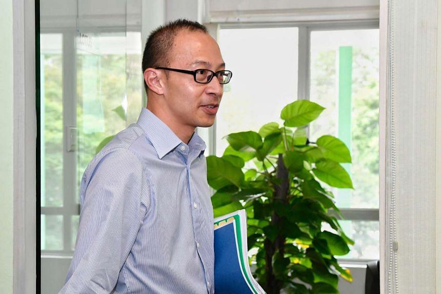 Former executive director of environmental group Singapore Environment Council (SEC) Edwin Seah.
