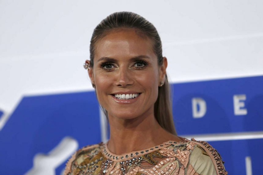 Supermodel Heidi Klum has been encouraging Americans to vote.