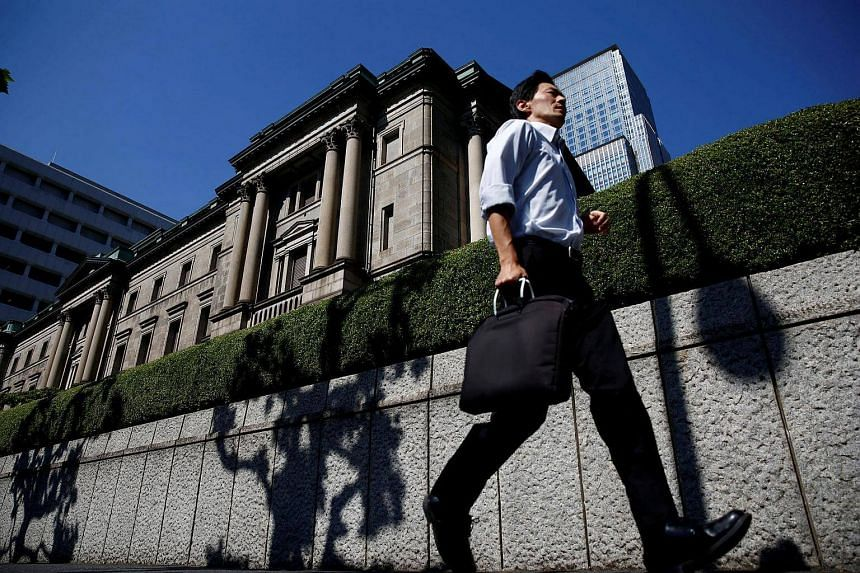 Japan's government and its central bank will hold crisis talks on Wednesday (Nov 9).