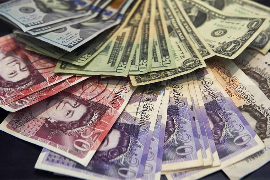Sterling steadied around US$1.24 on Tuesday in nervous trade, with markets holding their breath as Hillary Clinton and Donald Trump approached the finishing line in a tight US presidential election race.