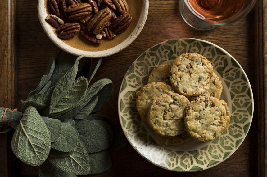 Add black pepper and fresh sage leaves to cookie dough for a savoury treat.