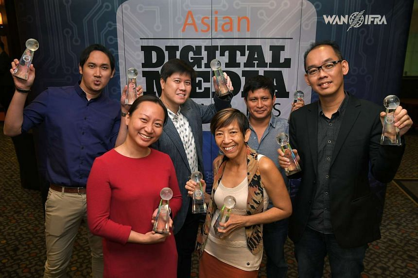 The Straits Times won seven awards - including two golds - at the 7th Asian Digital Media Awards on Wednesday (Nov 9).