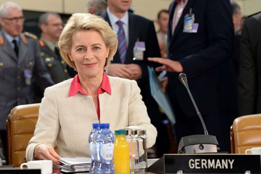 German Defence Minister Ursula von der Leyen asked US president-elect Donald Trump for assurances on his commitment to Nato.