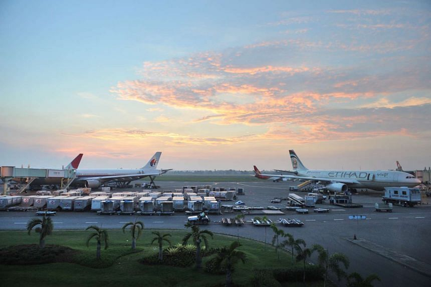 SIA has put on hold its planned Singapore-Jakarta-Sydney service due to runway maintenance works at Jakarta's Soekarno-Hatta International Airport.