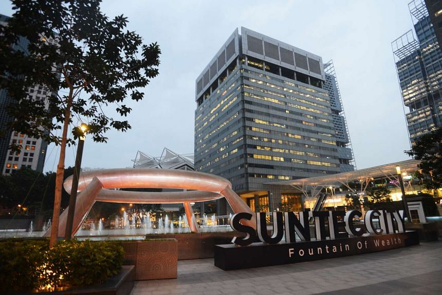 ARA's strong showing in the third quarter from the same period a year ago is due mainly to higher distribution income from units of Suntec Reit, which owns properties in Suntec City (above), as well as from its investment in private real estate fun
