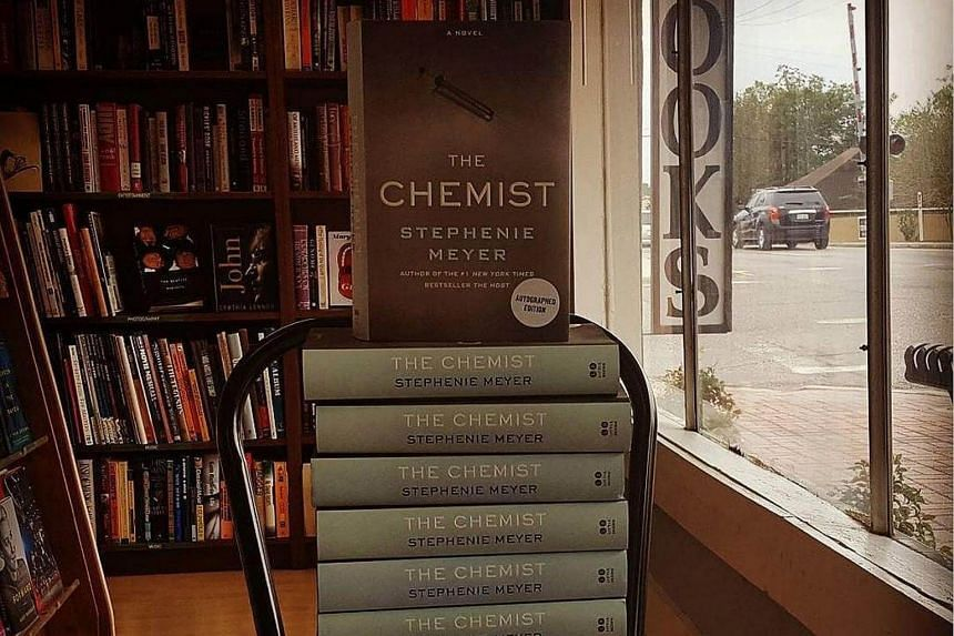Stephenie Meyer's new book, The Chemist, published this week, is a grisly, twisted thriller about a highly skilled female interrogator who goes into hiding after her bosses at a secret government agency try to kill her.