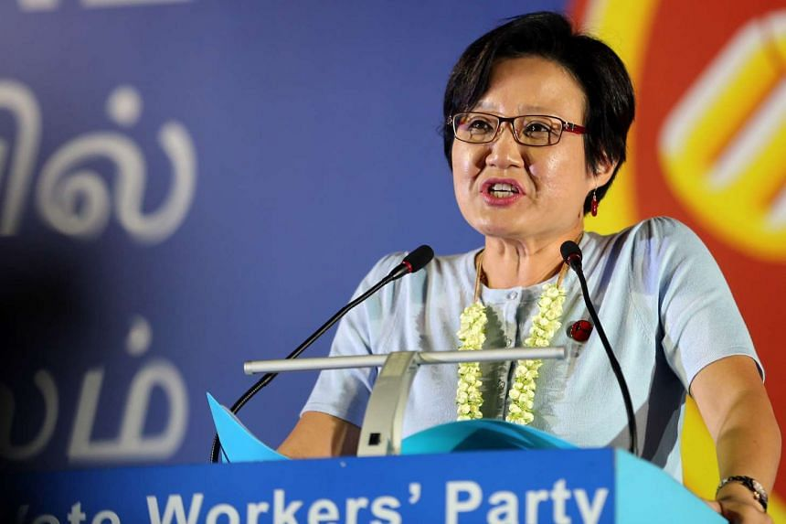 Workers' Party (WP) MP Sylvia Lim (Aljunied GRC) is an opposition party candidate who became a Non-Constituency MP (NCMP).