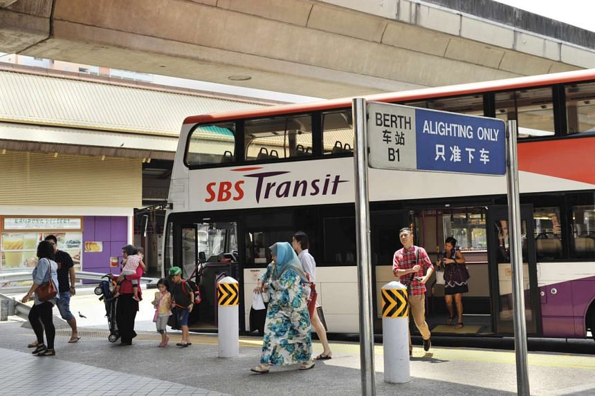 SBS Transit posted a 43.2 per cent surge in third-quarter profits.