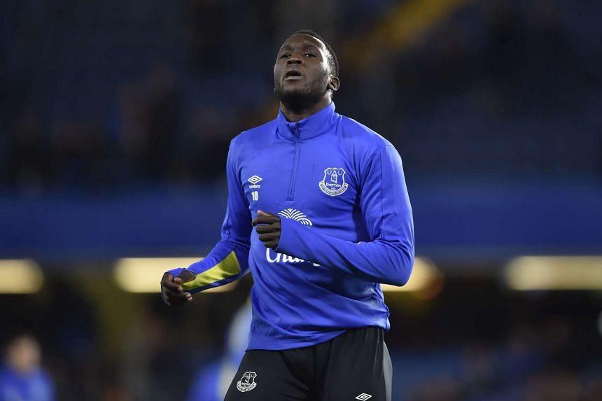 Everton striker Romelu Lukaku during their match against Chelsea on Nov 5, 2016.