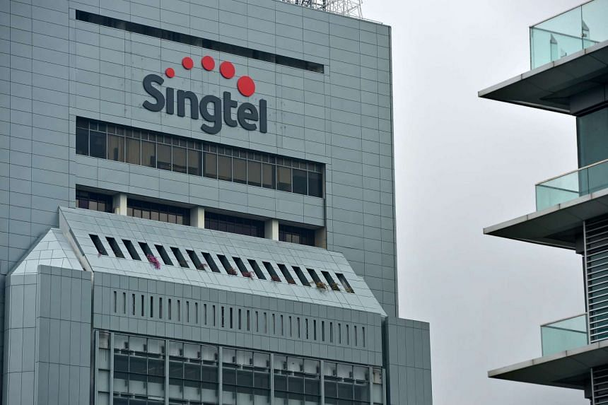 Singtel Comcentre at Somerset.