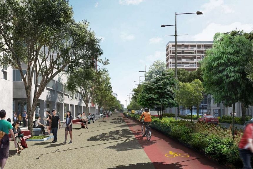 Bencoolen Street will get a new lease of life when it reopens in the first quarter of 2017 following the completion of Downtown Line 3 works for Bencoolen Station.