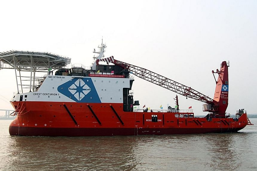 Pacific Radiance's Crest Centurion 1 on its maiden voyage to Mexico, where it is expected to start a multi-year contract with end-user Pemex. The vessel will be involved in subsea diving and platform maintenance work.