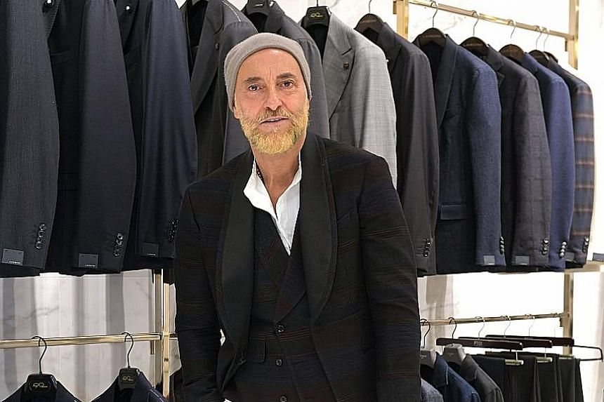 Growing up, Gabriele Pasini got his style inspiration from looking at what his older friends and father wore.