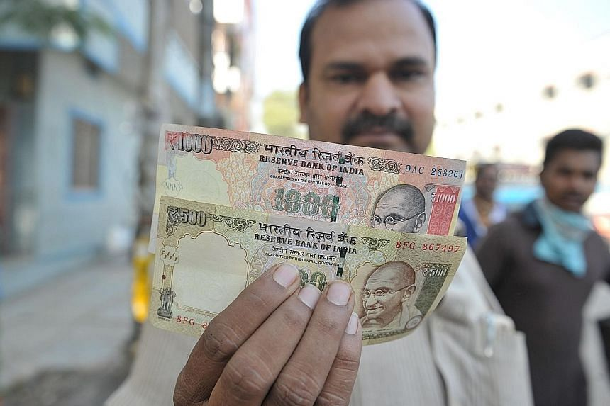 The withdrawal of 500-rupee and 1,000-rupee notes will be a vast exercise because the banknotes constitute 84 per cent in value of all Indian money in circulation.
