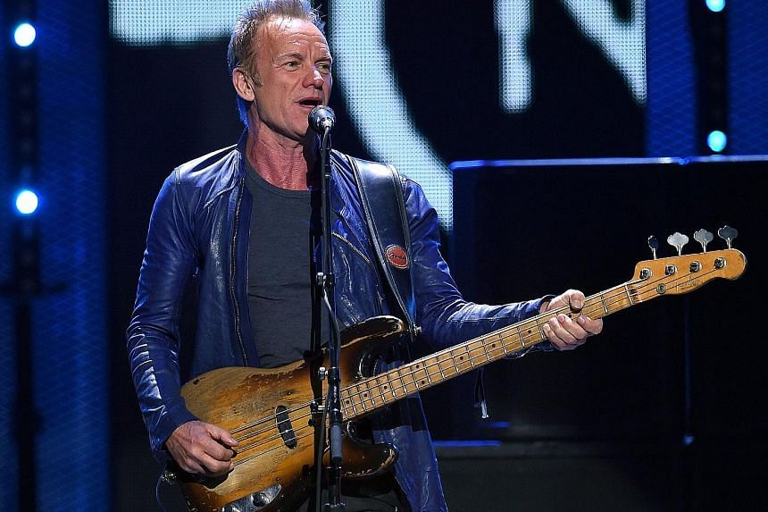 Songwriter Sting, whose new album is titled 57th & 9th, wants to surprise listeners when he produces music.