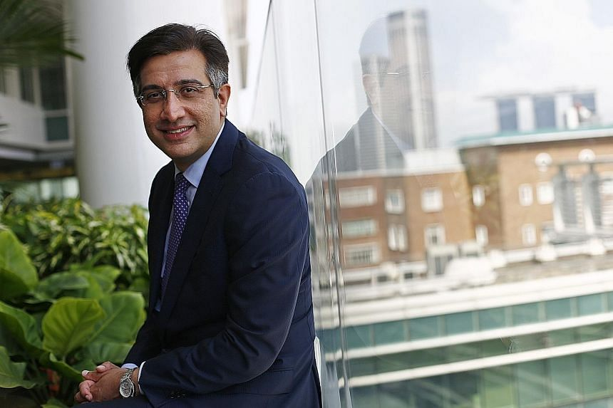 Mr Sekhon had been chief executive officer of Fullerton since October 2011.