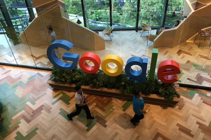 Google's new office at Mapletree Business City II in Pasir Panjang, where it occupies two entire office blocks to house its fast growing team of engineers.