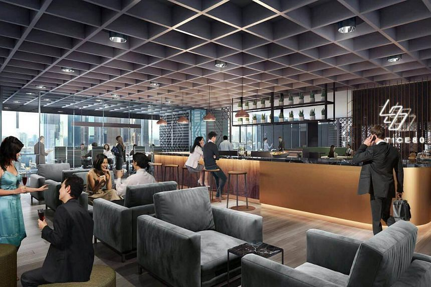 Lattice80 is at 80 Robinson Road and occupies two floors on level 8 and 9, with more than 30,000 square feet.