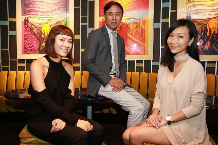 The faces of Zouk over the years, (from far left) Ms Tracy Phillips, Mr Andrew Ing and Ms Sofie Chandra, will each be programming a different themed night at the party venue for the last time before it moves to Clarke Quay.