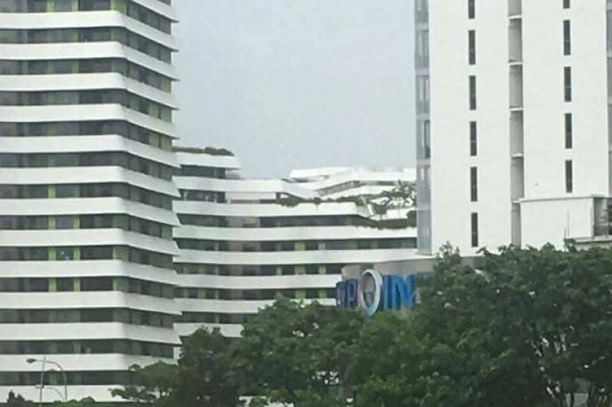 SCDF said it found no sign of a collapsed structure at the site of the hoax photo.