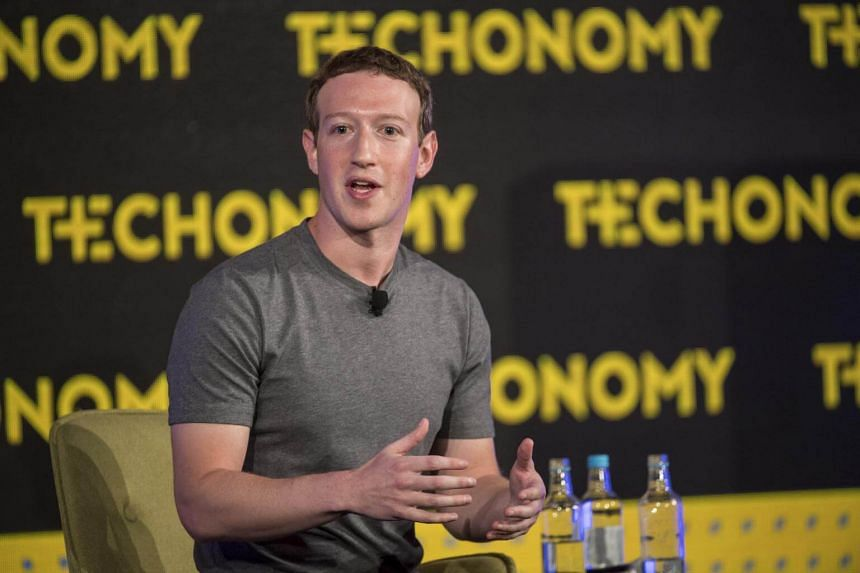 Mark Zuckerberg at the Techonomy 2016 conference in Half Moon Bay, California, on Nov 10, 2016.