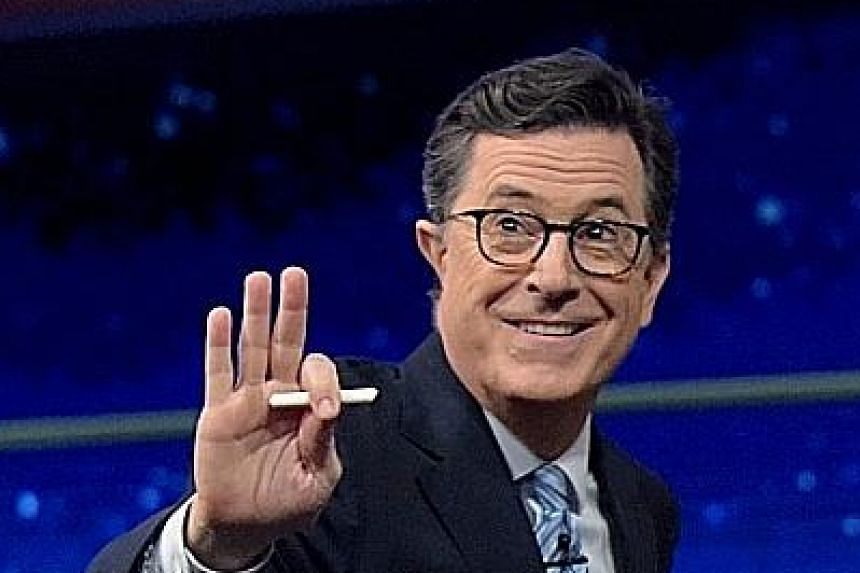Television host Stephen Colbert.