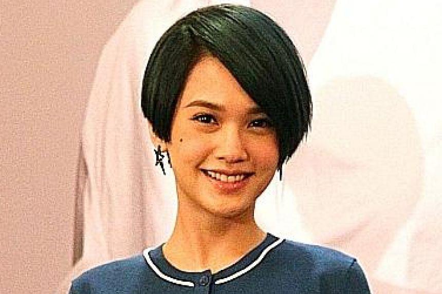 Singer Rainie Yang.