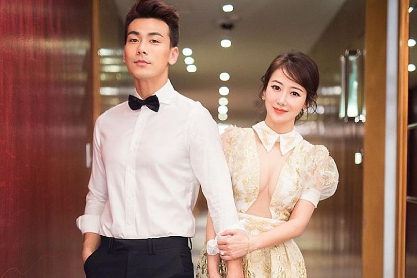 Actor Dai Xiangyu and actress Chen Zihan registered their marriage in May.