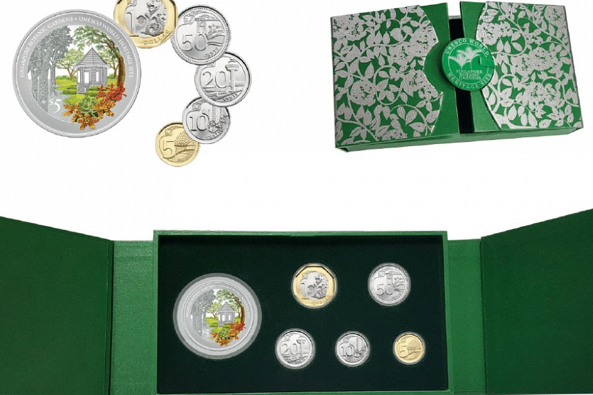 The 1 troy oz 999 Fine Silver Proof Colour Coin with Third Series Uncirculated Coin Set