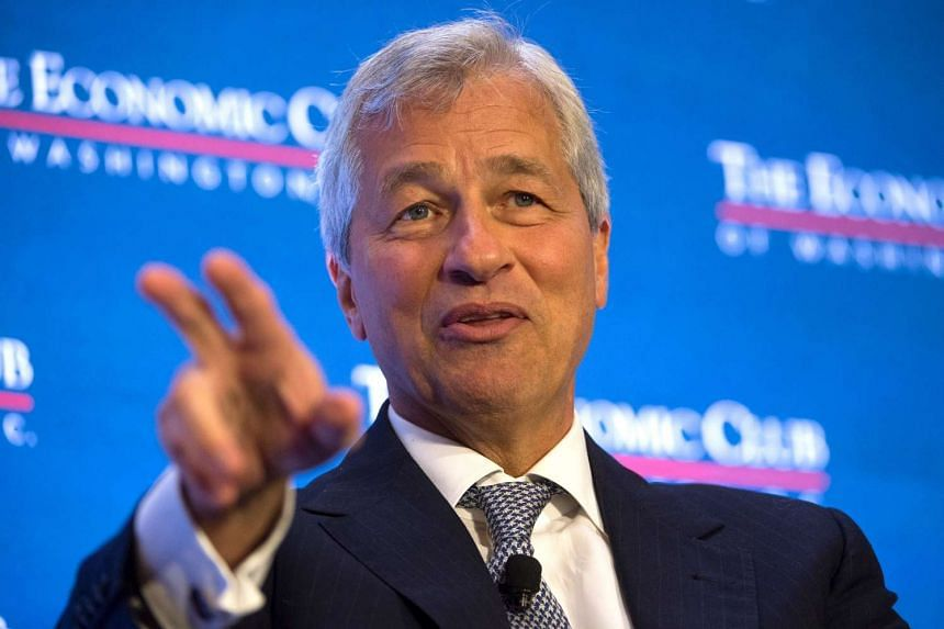 Dimon (above) has said multiple times in the past that he is not interested in the US Treasury secretary job.