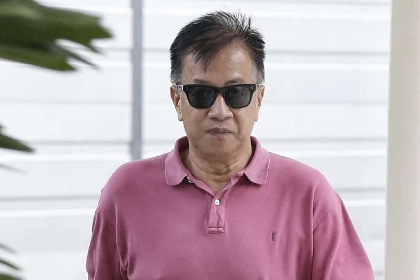 Former BSI senior banker Yak Yew Chee walking out of the State Courts on Oct 10, 2016.
