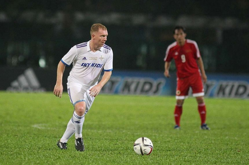 Ex-Manchester United and England star Paul Scholes.