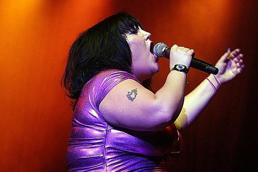 Singer Beth Ditto