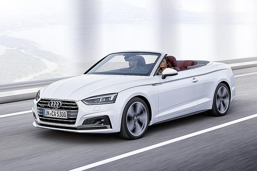 Audi's new A5 Cabriolet
