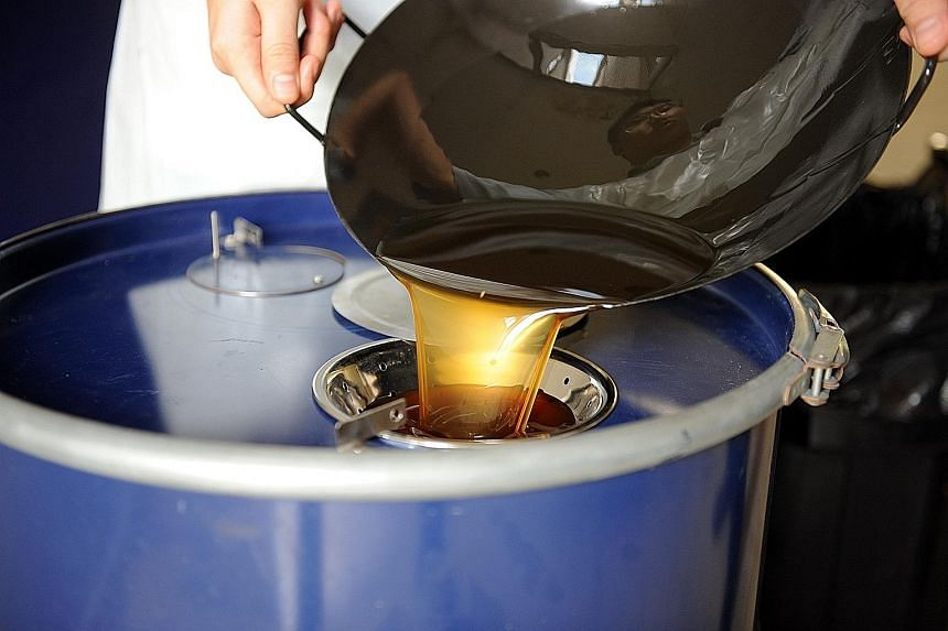 Reusing cooking oil over and over could expose you to harmful chemicals.