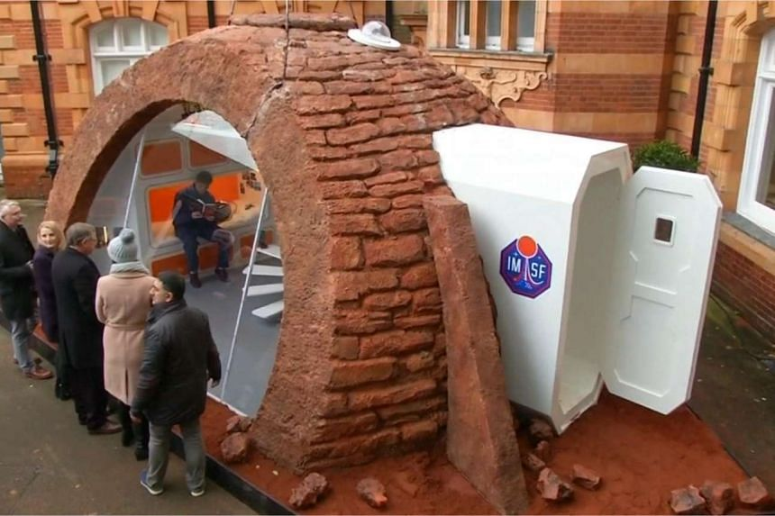 A mock-up of a facility that would-be colonisers could use to survive on Mars.
