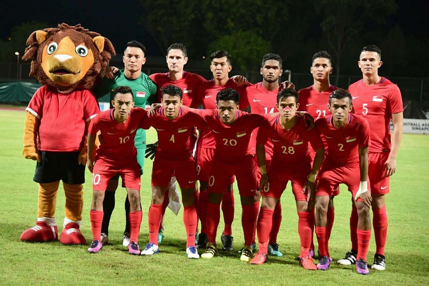 The Singapore national football team won 1-0 against Cambodia in a friendly match at Bishan Stadium on Nov 13, 2016.
