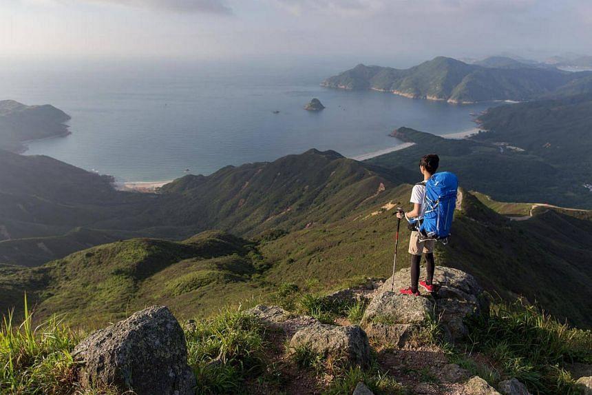 The 100km MacLehose Trail allows visitors to explore Hong Kong's natural side.