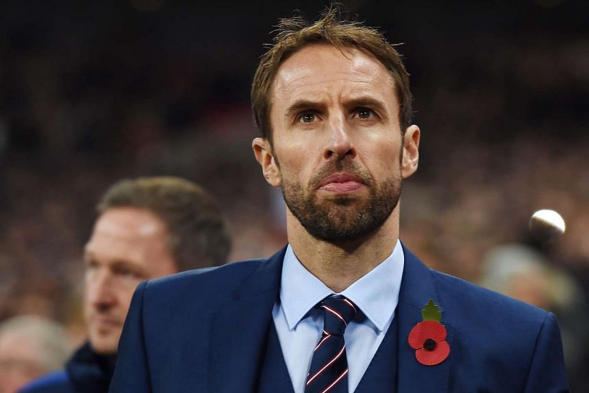 England manager Gareth Southgate during the Fifa World Cup Qualification match between England and Scotland at Wembley Stadium in London, Britain, on Nov 11, 2016.