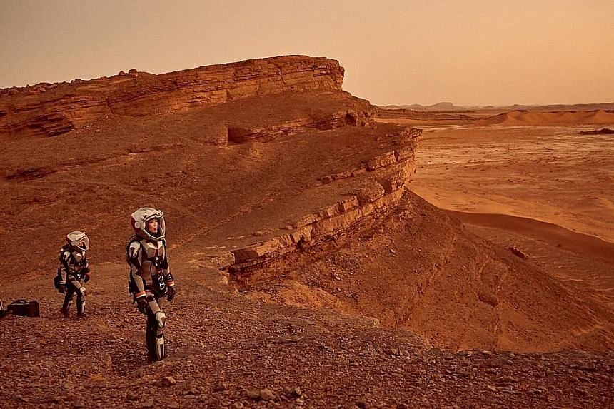 National Geographic miniseries Mars combines a space adventure with hard science.