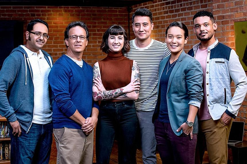 New-York based Citi Fintech team members (from left) Abhijit Bhattacharya, Alejandro Leyva, Simone Egipcoaco, Vincent Vainius, Moon Jeong Kim and Donn Ogilvie. The team contributed to the successful launch of Citi's global API Developer Portal that w