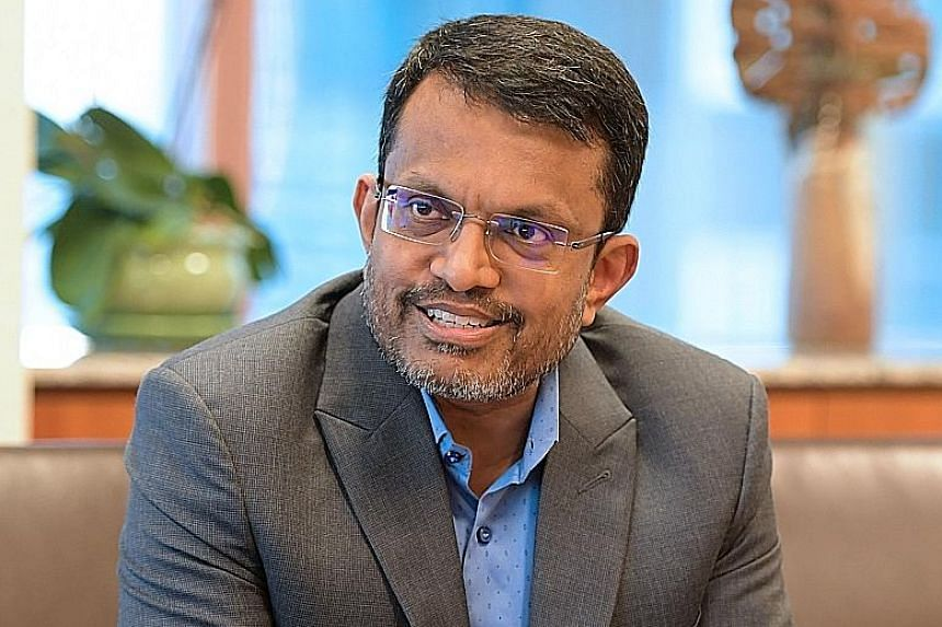To remain relevant as a top financial hub, Singapore must make its presence felt in fintech as well, says Mr Menon.