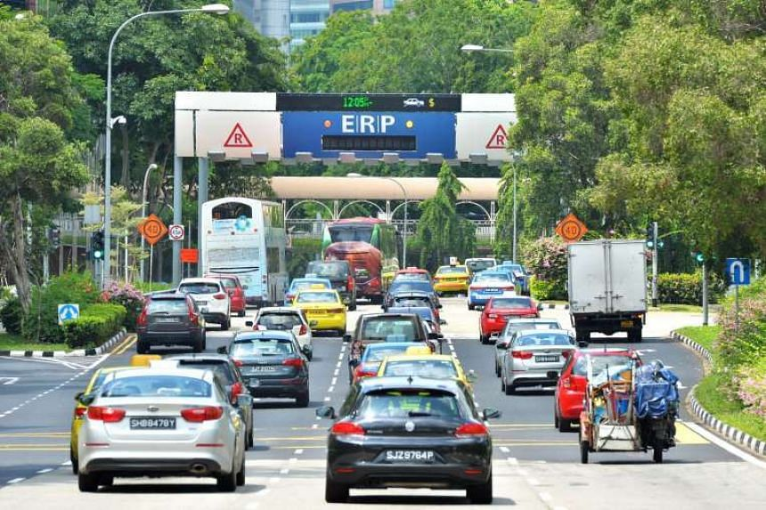 Electronic Road Pricing (ERP) at selected roads and expressways will be reduced for the upcoming December school holidays, the Land Transport Authority (LTA) announced on Monday (Nov 14).