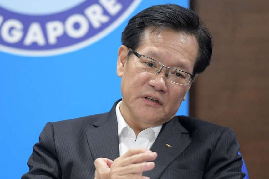 Current FAS vice-president Lim Kia Tong.