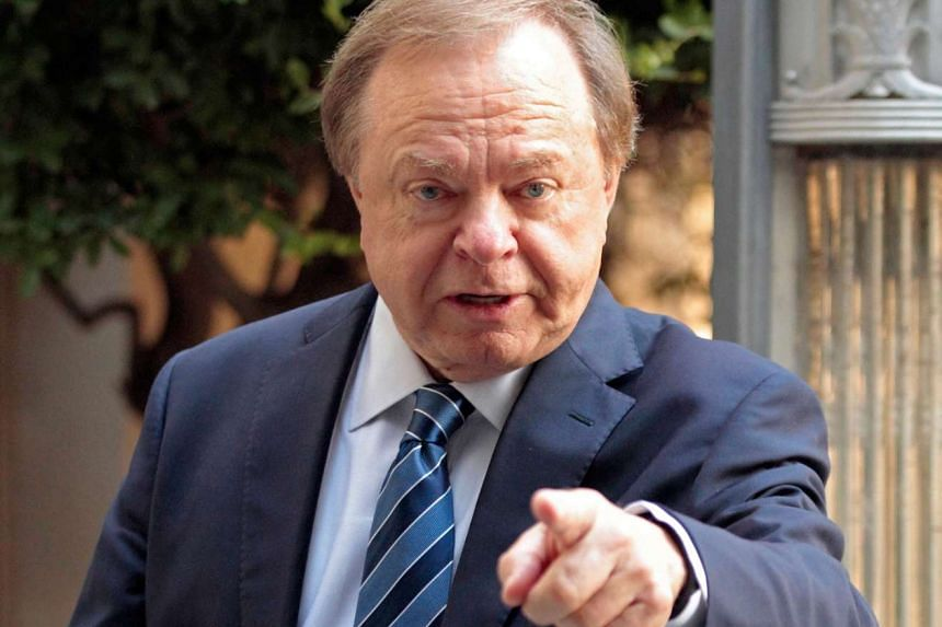 Harold Hamm, founder and CEO of Continental Resources, enters the courthouse for divorce proceedings with wife Sue Ann Hamm in Oklahoma City, Oklahoma, US on Sept 22, 2014.